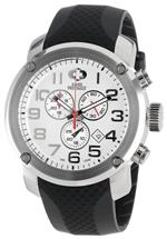 スイスプレシマックス 時計 Swiss Precimax Mens SP13002 Marauder Pro Sport White Dial with Black