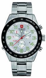 <img class='new_mark_img1' src='https://img.shop-pro.jp/img/new/icons21.gif' style='border:none;display:inline;margin:0px;padding:0px;width:auto;' />スイスミリタリー 時計 Swiss Military Mens Night Rider II Watch 6-5150.04.001