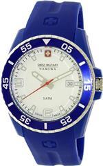 スイスミリタリー 時計 Swiss Military Hanowa Mens Ranger 06-4200-23-001-03 Blue Plastic Quartz Watch