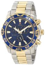 スイスプレシマックス 時計 Swiss Precimax Mens SP12154 Formula-7 Pro Blue Dial Two-Tone Stainless<img class='new_mark_img2' src='https://img.shop-pro.jp/img/new/icons24.gif' style='border:none;display:inline;margin:0px;padding:0px;width:auto;' />