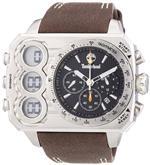 ティンバーランド 時計 Timberland Gents HT3 Leather Strapped Chronograph Watch 13673JS/02