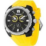 <img class='new_mark_img1' src='https://img.shop-pro.jp/img/new/icons20.gif' style='border:none;display:inline;margin:0px;padding:0px;width:auto;' />ティンバーランド 時計 Timberland 13851JPBS.02 Mens Bridgton Chronograph Yellow Watch