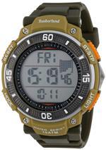 ティンバーランド 時計 Timberland Mens 13554JPGNU_04 Digital Chronograph Dual Time Timer Watch