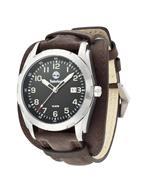ティンバーランド 時計 Timberland 13330JS.02A Mens Newmarket Black Brown Watch