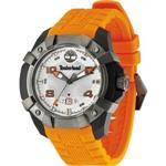 <img class='new_mark_img1' src='https://img.shop-pro.jp/img/new/icons25.gif' style='border:none;display:inline;margin:0px;padding:0px;width:auto;' />ティンバーランド 時計 Timberland Gents Chocorua Orange Rubber Strapped Watch 13326JPBU/04
