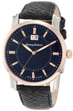 トミー バハマ 時計 Tommy Bahama Swiss Mens TB1225 Cubanito Rose Gold Black Dial Swiss Analog Watch