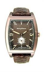 トミー バハマ 時計 Tommy Bahama Leather Brown Dial Mens Watch #TB1219