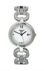 ティソ 時計 Tissot Pinky White Quartz Womens watch #T084.210.11.017.00