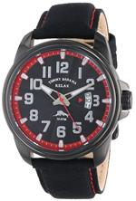 トミー バハマ 時計 Tommy Bahama RELAX Mens RLX1214 Beach Cruiser Black Dial Red Dial Ring Canvas<img class='new_mark_img2' src='https://img.shop-pro.jp/img/new/icons15.gif' style='border:none;display:inline;margin:0px;padding:0px;width:auto;' />