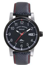トミー バハマ 時計 Tommy Bahama RELAX Mens RLX1199 Grand Prix Black 3-Hand Date Field Case Watch