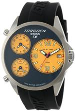 トーゲン 時計 Torgoen Swiss Mens T08302 Triple Time Zone Yellow Polyurethane Strap Watch<img class='new_mark_img2' src='https://img.shop-pro.jp/img/new/icons5.gif' style='border:none;display:inline;margin:0px;padding:0px;width:auto;' />