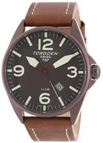 トーゲン 時計 Torgoen Swiss Mens Brown Ion-Plated 3-Hand Stainless Steel Watch #T10103<img class='new_mark_img2' src='https://img.shop-pro.jp/img/new/icons27.gif' style='border:none;display:inline;margin:0px;padding:0px;width:auto;' />
