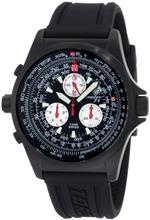 トーゲン 時計 Torgoen Swiss Mens T01301 T01 Series Classic Black Aviation Watch