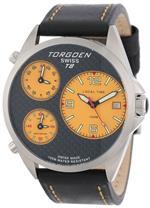 トーゲン 時計 Torgoen Swiss Mens T08102 Triple Time Zone Carbon Fiber Leather Strap Watch<img class='new_mark_img2' src='https://img.shop-pro.jp/img/new/icons22.gif' style='border:none;display:inline;margin:0px;padding:0px;width:auto;' />