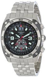 トーゲン 時計 Torgoen Swiss Mens T07201 Pilot Computer Dual-Time Zone Stainless Steel Watch<img class='new_mark_img2' src='https://img.shop-pro.jp/img/new/icons20.gif' style='border:none;display:inline;margin:0px;padding:0px;width:auto;' />