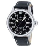 トーゲン 時計 Torgoen Pilot T34 Series T34101 45mm Stainless Steel Case Black Leather Mineral Mens<img class='new_mark_img2' src='https://img.shop-pro.jp/img/new/icons17.gif' style='border:none;display:inline;margin:0px;padding:0px;width:auto;' />
