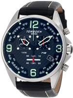 トーゲン 時計 Torgoen Swiss Mens T18101 T18 Series Classic Steel Aviation Watch