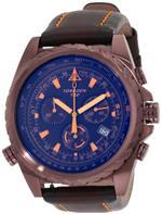 トーゲン 時計 Torgoen Swiss Mens T22104 T22 Series Classic Black Aviation Watch