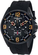 トーゲン 時計 Torgoen Swiss Mens T18301 T18 Series Classic Black Aviation Watch