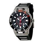 トーゲン 時計 Torgoen Swiss Mens T23306 T23 Gunmetal 20 ATM GMT Dive Watch<img class='new_mark_img2' src='https://img.shop-pro.jp/img/new/icons1.gif' style='border:none;display:inline;margin:0px;padding:0px;width:auto;' />
