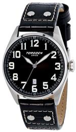 トーゲン 時計 Torgoen Swiss Mens T28101 T28 3-Hand Stainless-Steel Aviation Watch<img class='new_mark_img2' src='https://img.shop-pro.jp/img/new/icons31.gif' style='border:none;display:inline;margin:0px;padding:0px;width:auto;' />