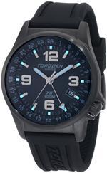 トーゲン 時計 Torgoen Swiss Mens T05303 T05 Series Classic Black Aviation Watch