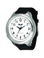 <img class='new_mark_img1' src='https://img.shop-pro.jp/img/new/icons28.gif' style='border:none;display:inline;margin:0px;padding:0px;width:auto;' />ベスタル 時計 Vestal Mens UTL004 Utilitarian Silver White with Black Polyurethane Watch