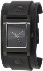 ベスタル 時計 Vestal Womens EA023 Electra Blackout Leather Cuff Watch<img class='new_mark_img2' src='https://img.shop-pro.jp/img/new/icons23.gif' style='border:none;display:inline;margin:0px;padding:0px;width:auto;' />