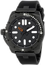 ベスタル 時計 Vestal Mens RED3S02 Restrictor Diver 43 Black Lume Watch