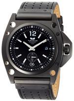 ベスタル 時計 Vestal Mens DEC002 Decibel Black Ion-Plated Case Black Leather Watch<img class='new_mark_img2' src='https://img.shop-pro.jp/img/new/icons4.gif' style='border:none;display:inline;margin:0px;padding:0px;width:auto;' />