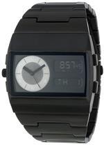 ベスタル 時計 Vestal Unisex MMC034 Metal Monte Carlo All Black Ion Plated Digital Watch