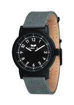 ベスタル 時計 Vestal Unisex ALP006 Alpha Bravo Grey Canvas Watch