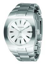ベスタル 時計 Vestal Mens GHD007 Gearhead Brushed Silver Watch