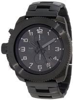 ベスタル 時計 Vestal Mens RES006 Restrictor Black Sunray Chronograph Watch