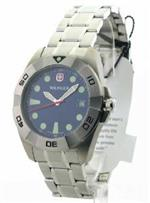 ウェンガー 時計 Mens Wenger Swiss Military Sport II Steel Date Watch 72978<img class='new_mark_img2' src='https://img.shop-pro.jp/img/new/icons30.gif' style='border:none;display:inline;margin:0px;padding:0px;width:auto;' />