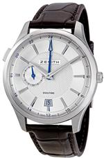 ゼニス 時計 Zenith Mens 03.2130.682/02.C498 Captain Dual Time Silver Dial Watch<img class='new_mark_img2' src='https://img.shop-pro.jp/img/new/icons15.gif' style='border:none;display:inline;margin:0px;padding:0px;width:auto;' />