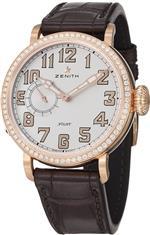 ゼニス 時計 Zenith Pilot Montre DAeronef Type 20 Ladies Automatic Rose Gold Diamond Watch