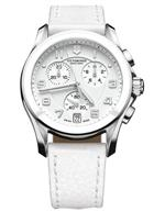 ビクトリノックス スイスアーミー 時計 Victorinox Swiss Army Chrono Classic White Dial Womens Watch