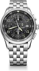 ビクトリノックス スイスアーミー 時計 Victorinox Airboss Automatic Chronograph Black Dial Stainless<img class='new_mark_img2' src='https://img.shop-pro.jp/img/new/icons14.gif' style='border:none;display:inline;margin:0px;padding:0px;width:auto;' />