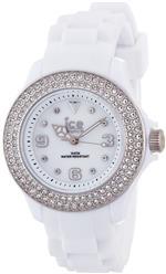 アイス 時計 Ice-Watch Stone - White Silver Sili Small Womens watch #ST.WS.S.S.09