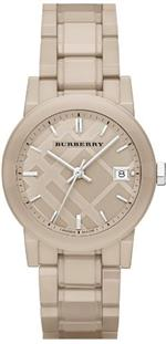 バーバリー 時計 Burberry Ceramic Beige Dial Beige Ceramic Ladies Watch BU9184<img class='new_mark_img2' src='https://img.shop-pro.jp/img/new/icons7.gif' style='border:none;display:inline;margin:0px;padding:0px;width:auto;' />