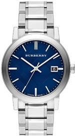 バーバリー 時計 Burberry Large Check Stamped Mens Watch BU9031