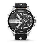 <img class='new_mark_img1' src='https://img.shop-pro.jp/img/new/icons37.gif' style='border:none;display:inline;margin:0px;padding:0px;width:auto;' />ディーゼル 時計 Diesel Mens DZ7313 The Daddies Series Analog Display Analog Quartz Black Watch