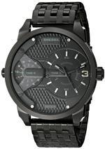 ディーゼル 時計 Diesel Mens DZ7316 The Daddies Series Analog Display Analog Quartz Black Watch