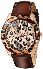 ゲス 時計 GUESS Womens U0455L3 Iconic Brown Animal Print Watch with Rose Gold-Tone Accents<img class='new_mark_img2' src='https://img.shop-pro.jp/img/new/icons29.gif' style='border:none;display:inline;margin:0px;padding:0px;width:auto;' />