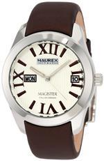 ハウレックスイタリア 時計 Haurex Italy Womens FA356DM1 Magister Beige Dial Brown Satin Dress Watch<img class='new_mark_img2' src='https://img.shop-pro.jp/img/new/icons6.gif' style='border:none;display:inline;margin:0px;padding:0px;width:auto;' />