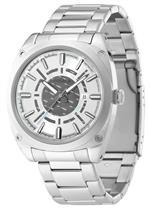 アイス 時計 Police Mens PL-12698JS/04M Enforce-X All Stainless Steel Watch