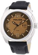 アイス 時計 Police PL-13836JS-61 Mens Texas Gunmetal Dial Black Leather Strap Steel Watch<img class='new_mark_img2' src='https://img.shop-pro.jp/img/new/icons20.gif' style='border:none;display:inline;margin:0px;padding:0px;width:auto;' />