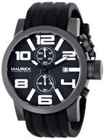 <img class='new_mark_img1' src='https://img.shop-pro.jp/img/new/icons33.gif' style='border:none;display:inline;margin:0px;padding:0px;width:auto;' />ハウレックスイタリア 時計 Haurex Italy Mens 6N506UWN TURBINA II Analog Display Quartz Black Watch