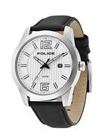 アイス 時計 Police Mens PL-13406JS/04 Trophy Stainless-Steel Leather Date Watch